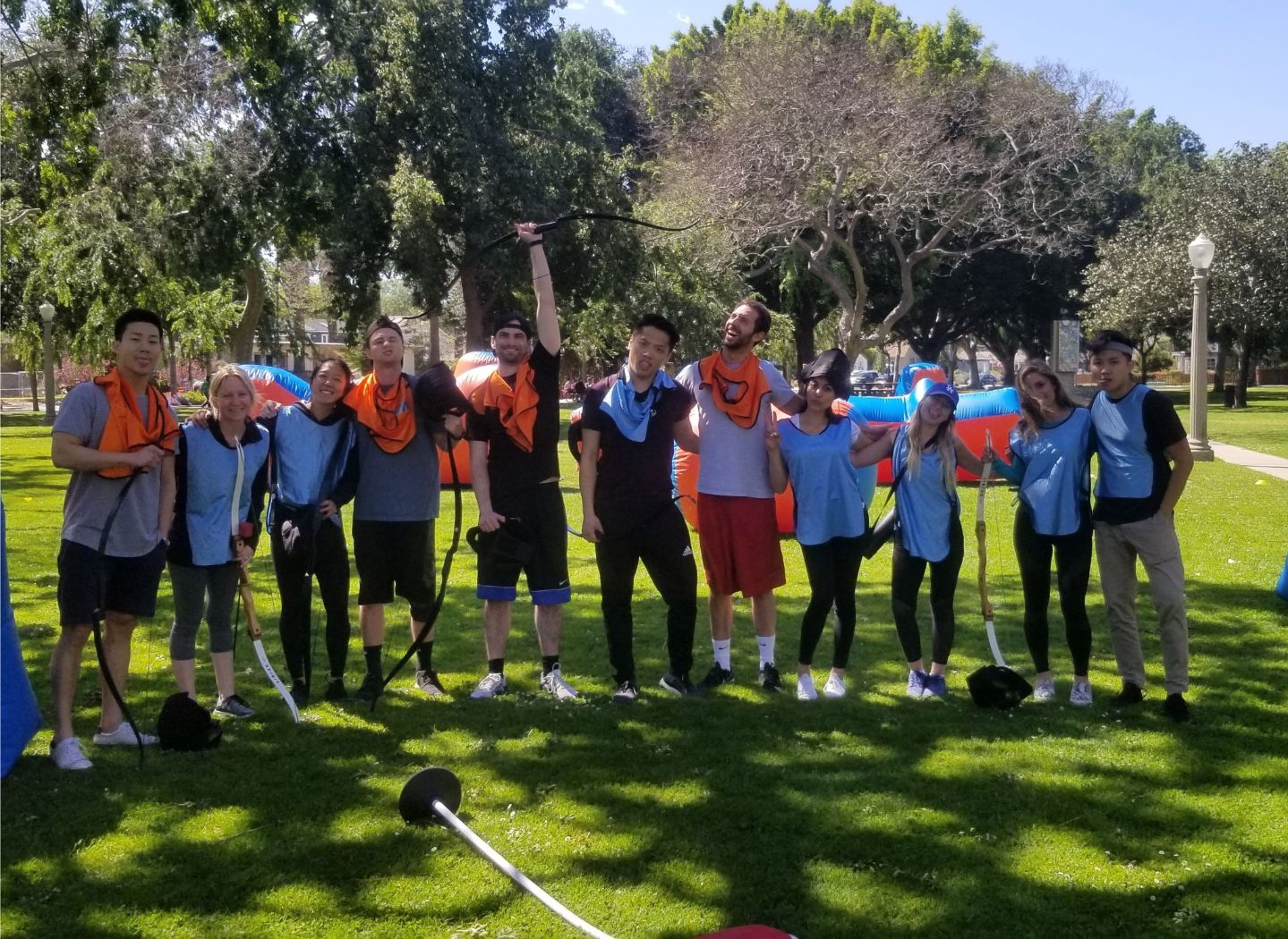 Archery Tag in Newport Beach