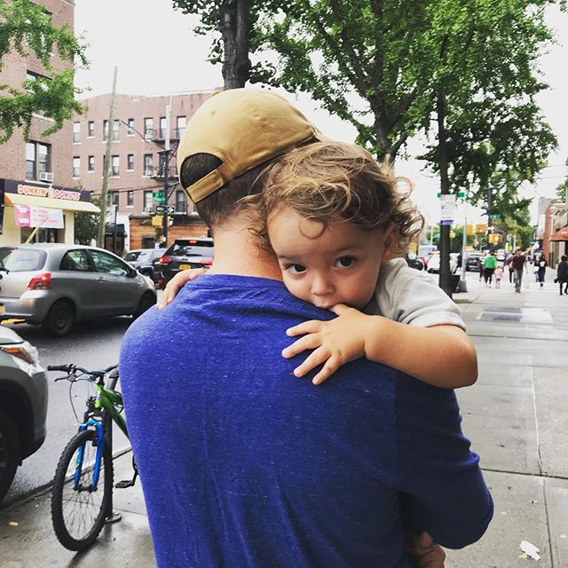 """Feminists Make Batter Fathers"" or at least that's our claim. I asked Matt to brainstorm with me and we whittled our thoughts down into three important ways men can and should step up in the age of #TimesUp, #AllMenCan, and #EverydaySexism. Happy Early Father's Day! New blog post, link in bio!"