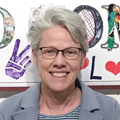 Margot Kimball, founder of Village Art Room