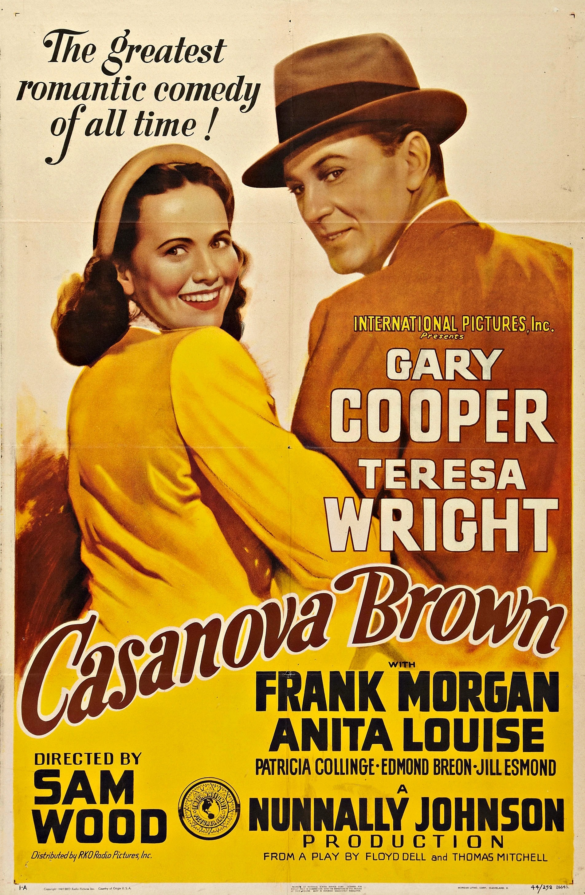 - Cass Brown is about to marry for the second time; his first marriage, to Isabel was annulled. But when he discovers that Isabel just had their baby, Cass kidnaps the infant to keep her from being adopted. Isabel's parents hunt for the child and discover that Cass and Isabel are still hopelessly in love1944 1 h 34 min