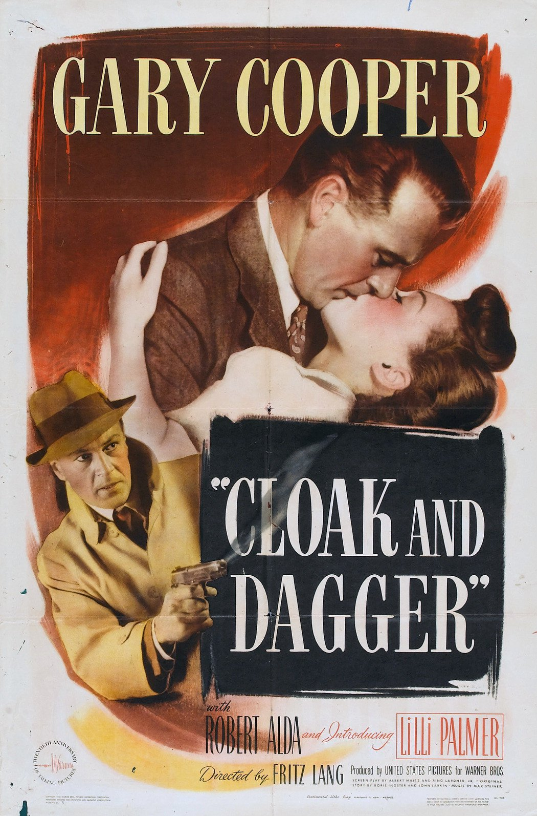 - In this Fritz Lang's compelling World War II espionage thriller, Gary Cooper stars as Alvah Jasper, a shy and retiring physics professor at a midwestern university. When government agents press Jasper into joining them in an effort to curtail the Nazis' efforts to attain atomic secrets, his life takes a dramatic turn.19461 h 46 min