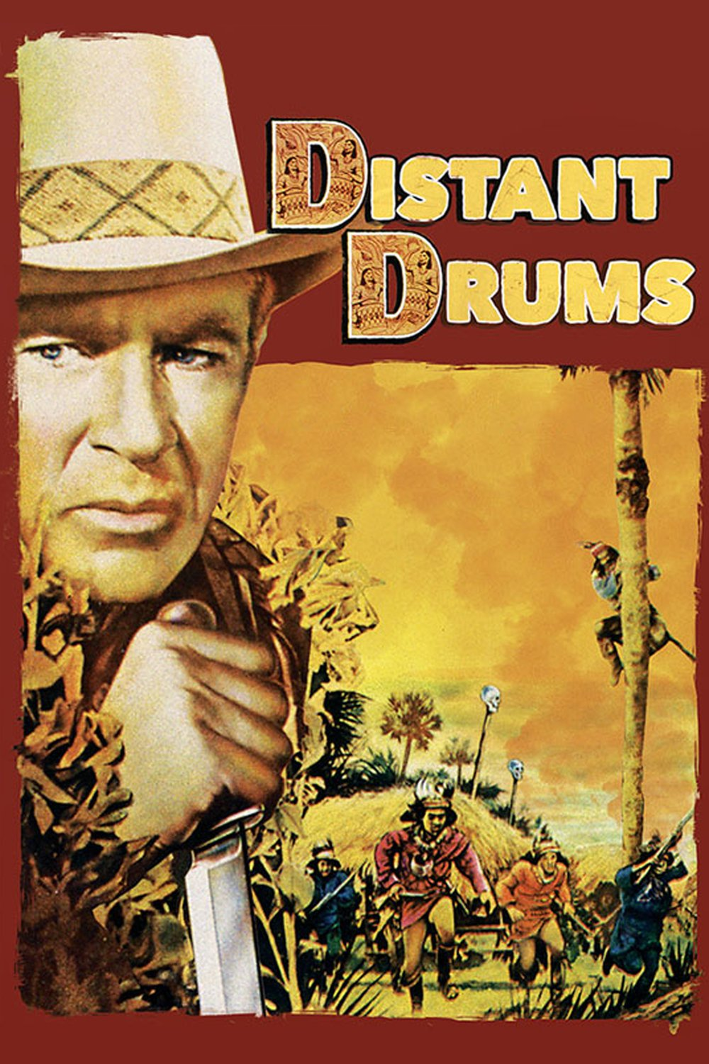 - After destroying a Seminole fort, American soldiers and their rescued companions must face the dangerous Everglades and hostile Indians in order to reach safety19511 h 41 min