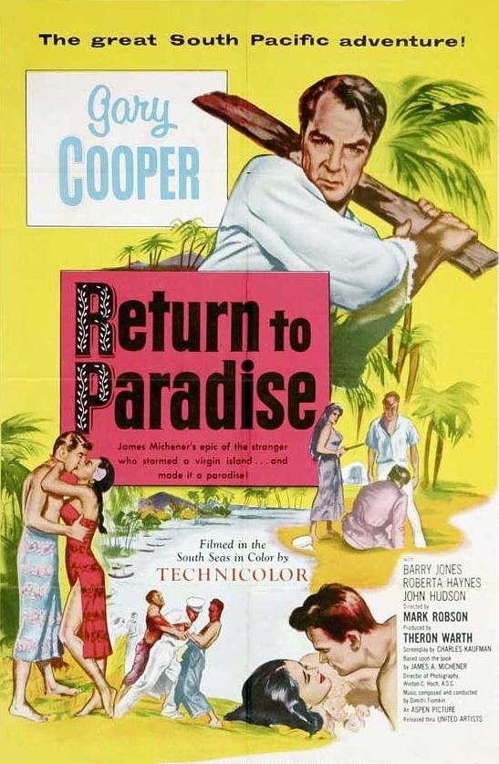 - An American drifter comes to a remote Polynesian island controlled by a Puritanical missionary and turns the social life of the island upside-down.19531 h 40 min