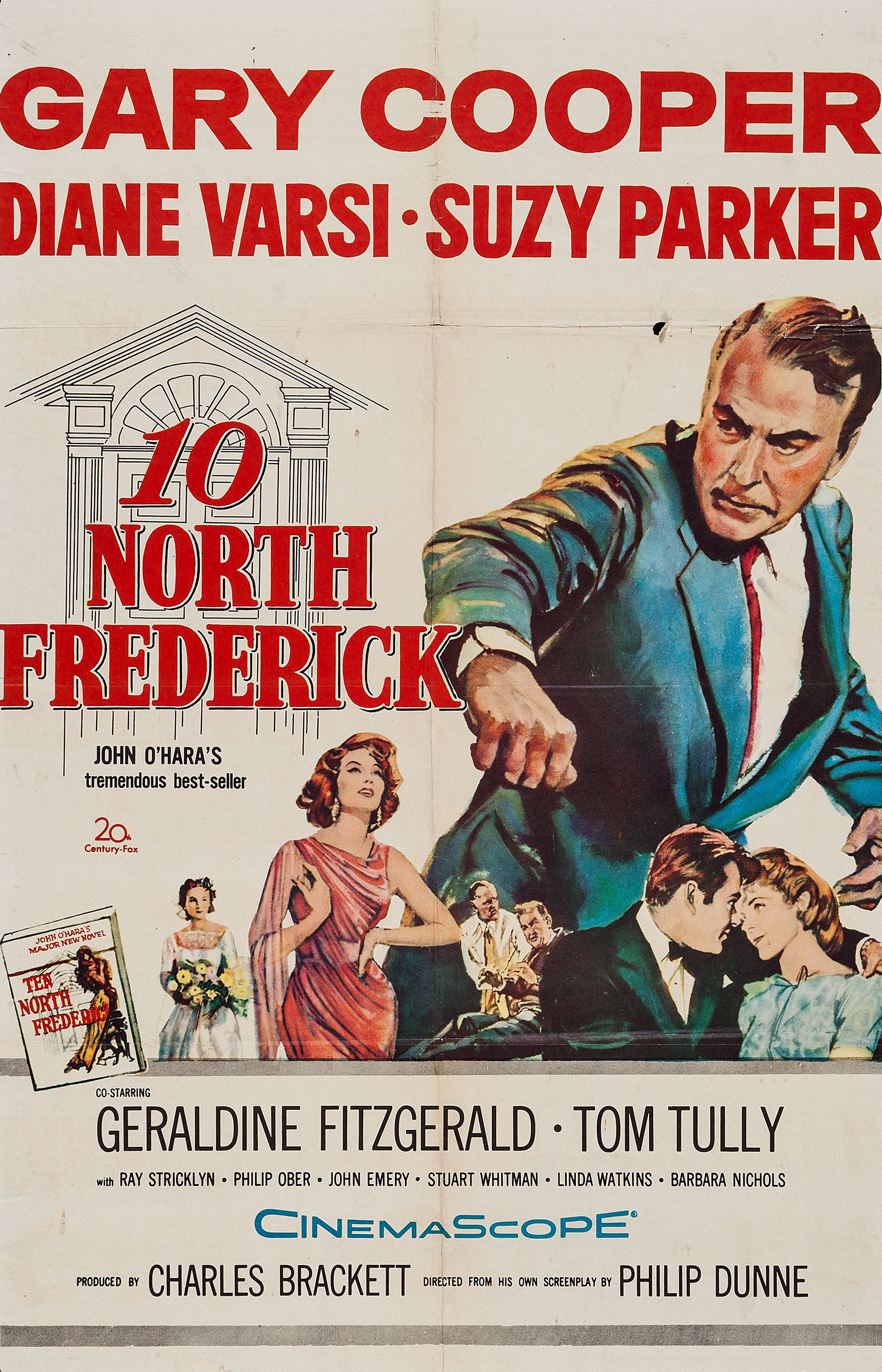 - Director Philip Dunne's 1958 drama, based on John O'Hara's novel, stars Gary Cooper as a wealthy, aging businessman with political ambitions who conducts an adulturous affair with his daughter's roommate (Suzy Parker). The cast also includes Geraldine Fitzgerald, Diane Varsi, Ray Stricklyn, Barbara Nichols, Tom Tully and Stuart Whitman.19581 h 42 min