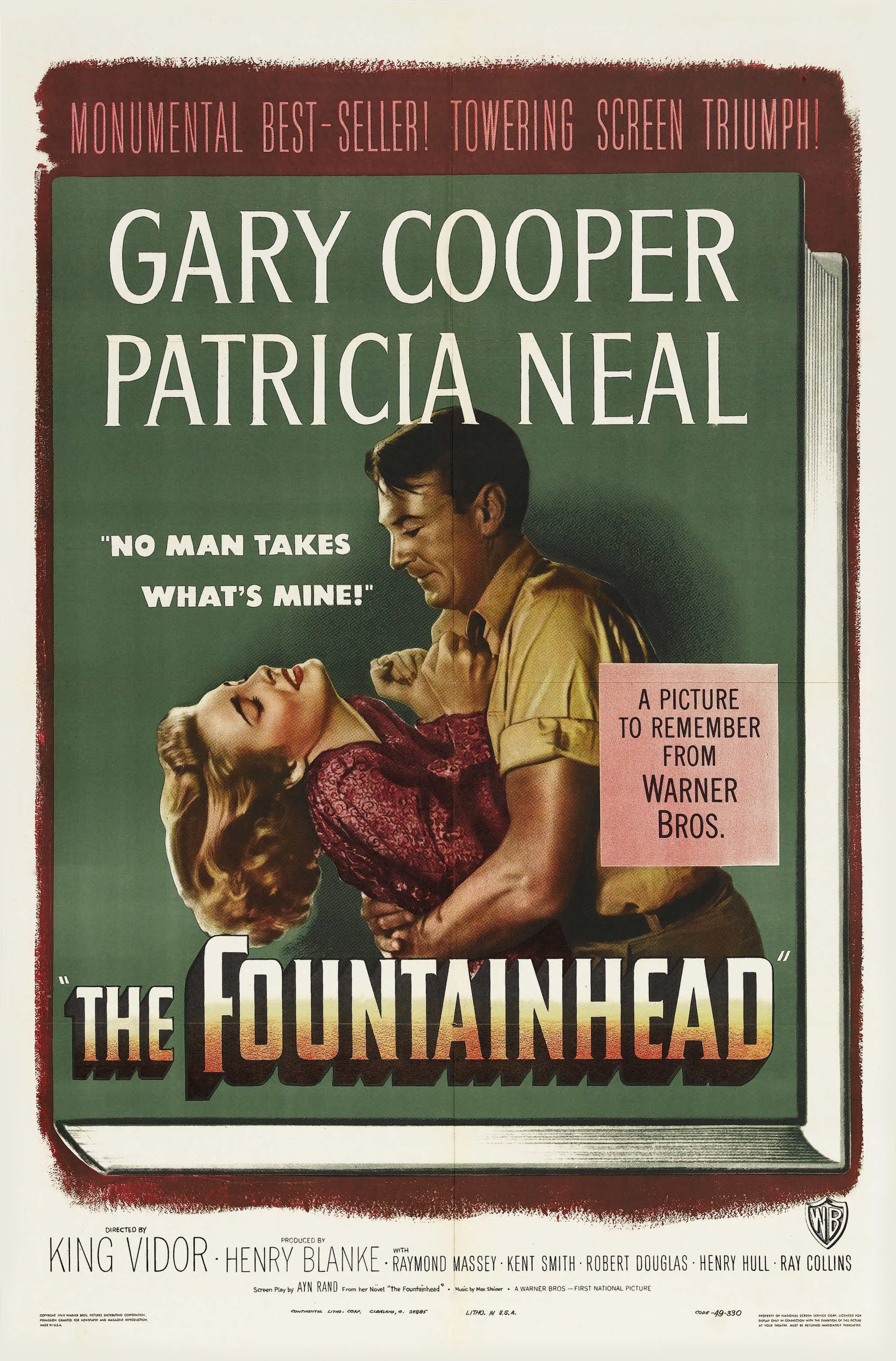 - An uncompromising, visionary architect struggles to maintain his integrity and individualism despite personal, professional and economic pressures to conform to popular standards.19491 h 54 min