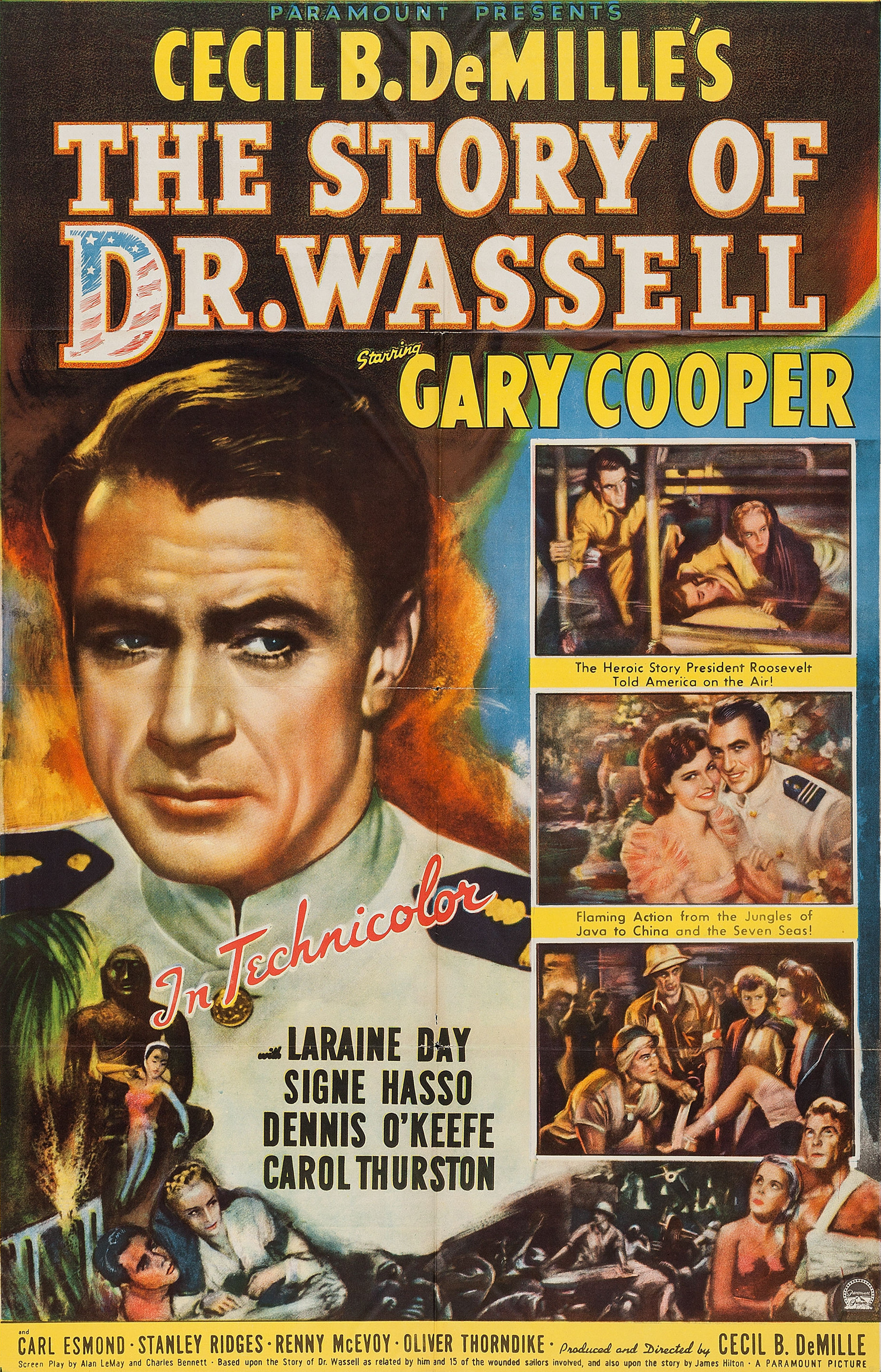 - As the Japanese sweep through the East Indies during World War II, Dr. Wassell is determined to escape from Java with some crewmen of the cruiser Marblehead. Based on a true story of how Dr. Wassell saved a dozen or so wounded sailors who were left behind when able bodied men were evacuated to Australia.19442 h 20 min