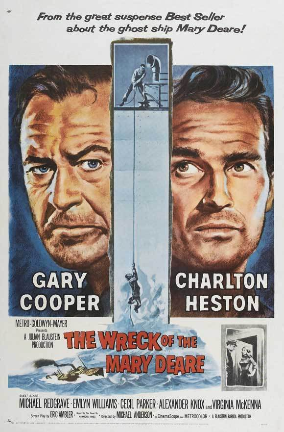- A disgraced merchant marine officer elects to stay aboard his sinking cargo ship in order to prove the vessel was deliberately scuttled and, as a result, vindicate his good name.19591 h 45 min