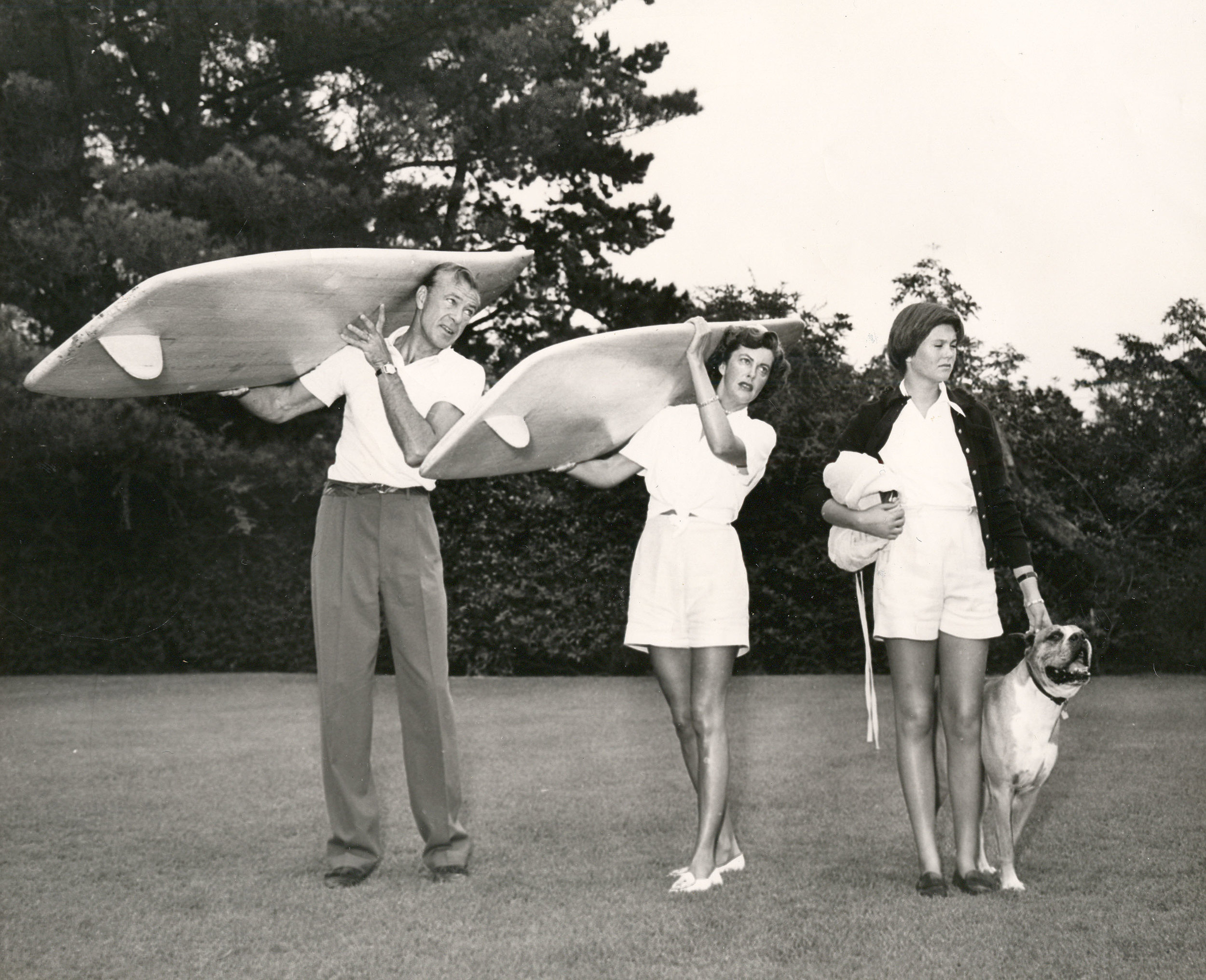 - My mother took up surfing guided by her buddy English actor Peter Lawford. Through his young surfing friends who developed the lightweight fiberglass smaller surfboards, we all were able to carry this new era of surfing boards ourselves.