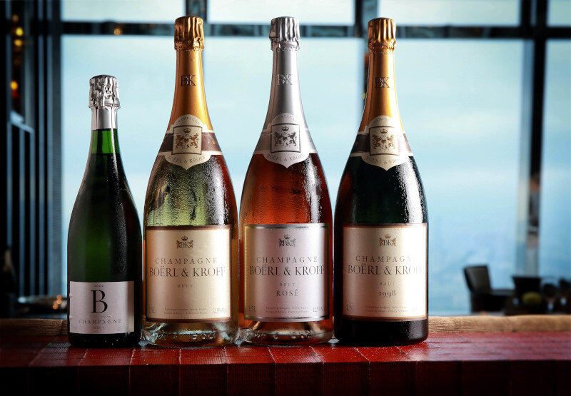 boerl and kroff champagne