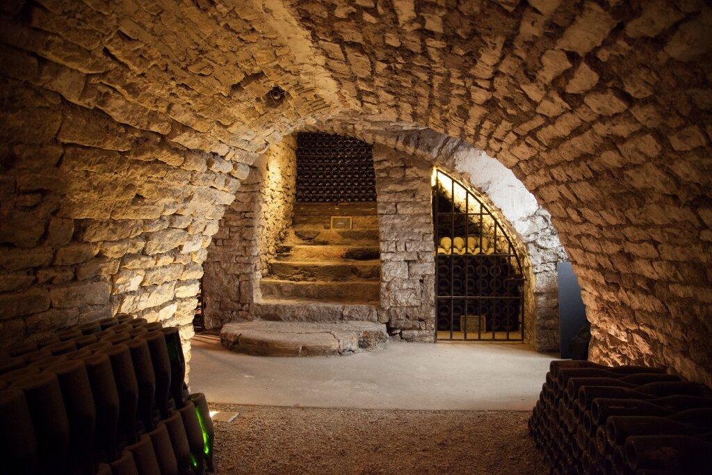 Boërl & Kroff, Underground Cellars in Urville, Champagne
