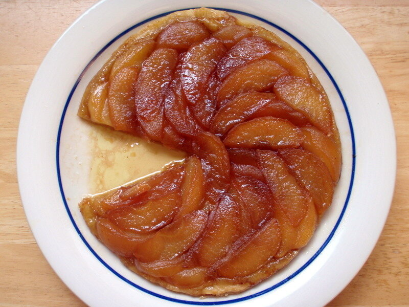 This beautiful tarte tatin was made by The Cooking of Joy.