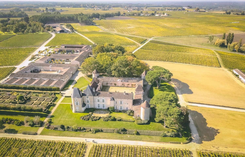 Château d'Yquem in Sauternes, Bordeaux