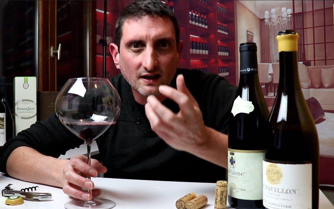 Our Chief Wine Officer Julien Miquel presents  M. Chapoutier Le Pavillon Rouge BIO 2009