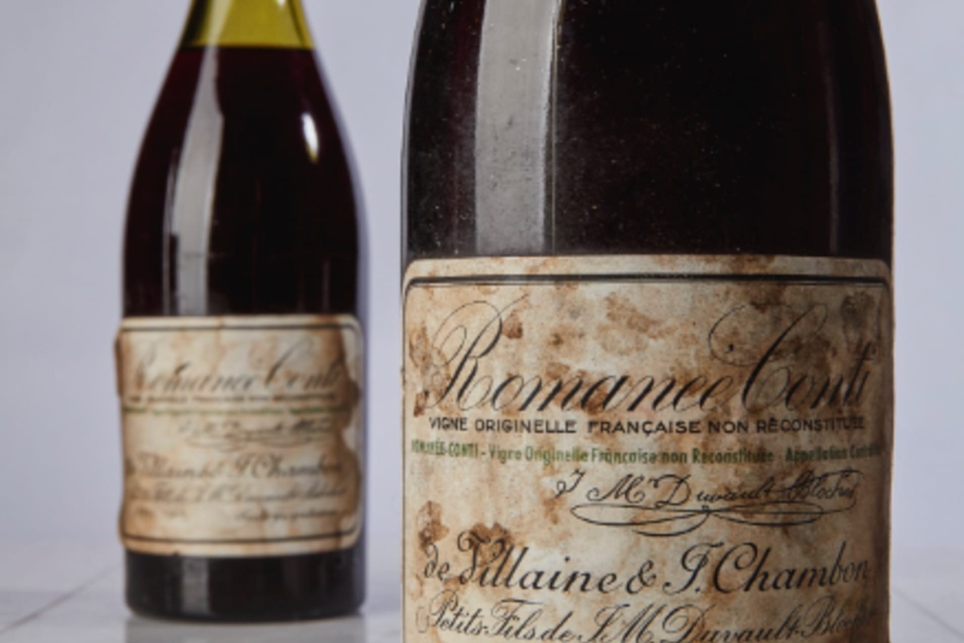 Would you pay US$ 558.000 for this 1945 Romanée-Conti? It happened in 2018. (Photo by Sotheby's)
