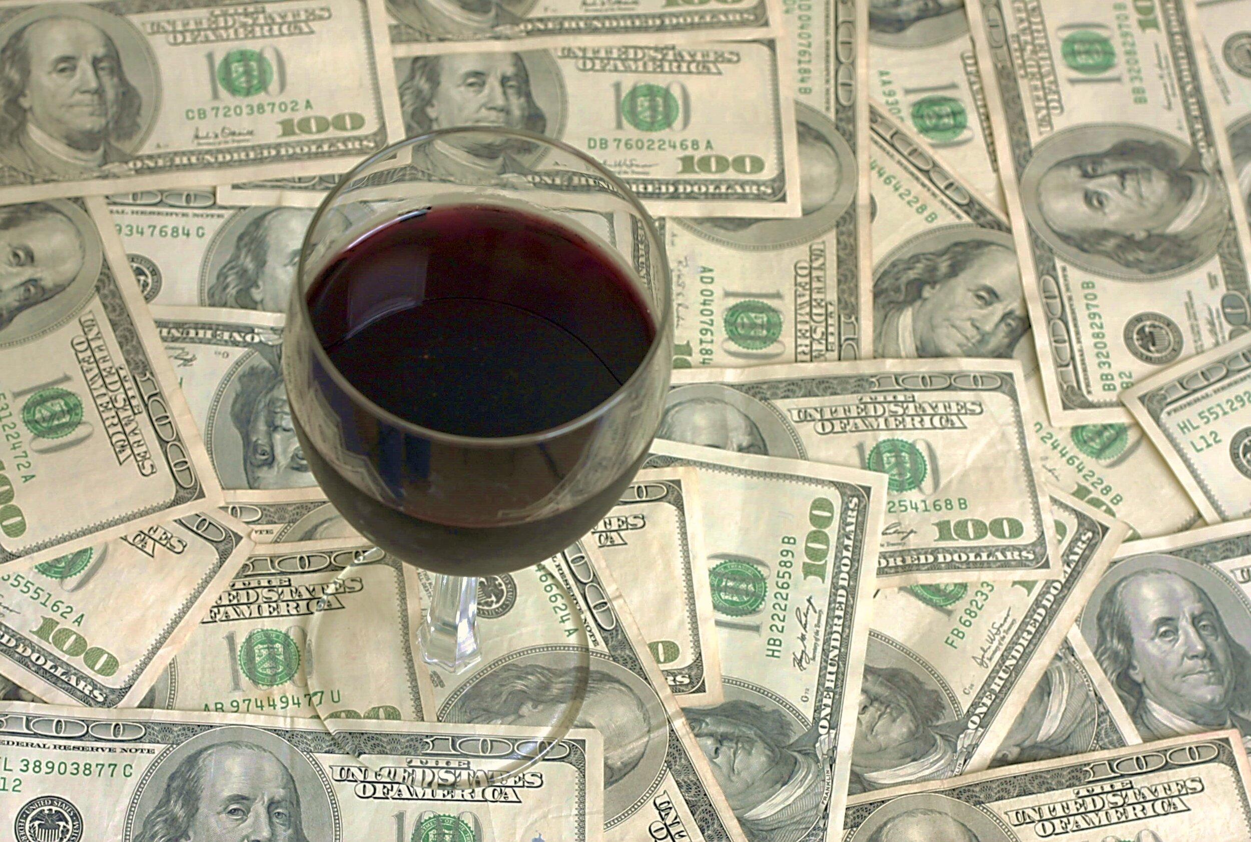 wine investment dollars