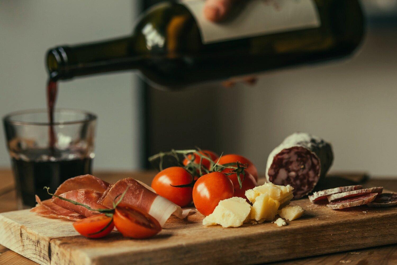 Tapas and tempranillo wine: what a match.  (Photo by Yulia Grigoryeva via Shutterstock)