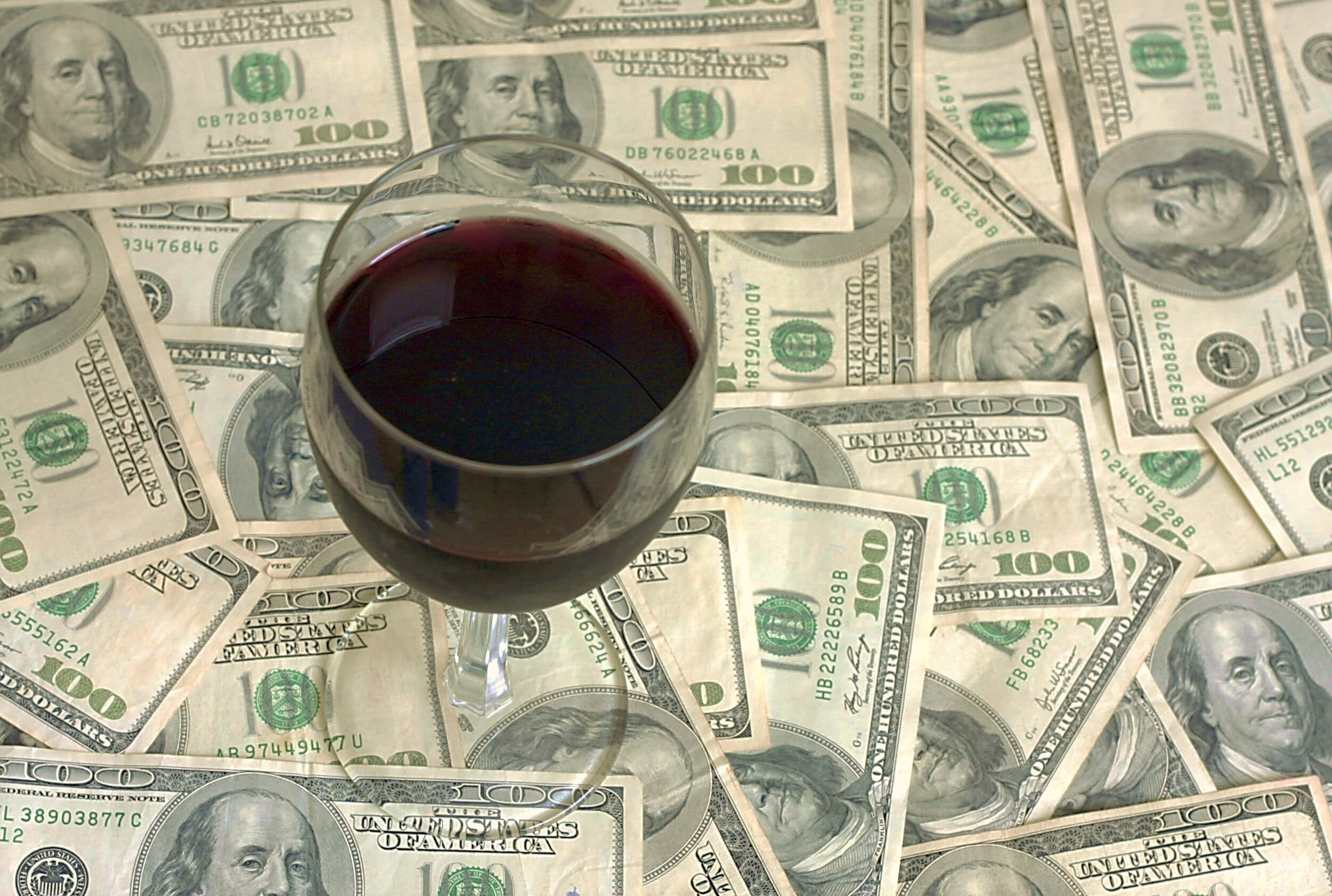 Fine wine investment is not a gamble. Follow the price of money