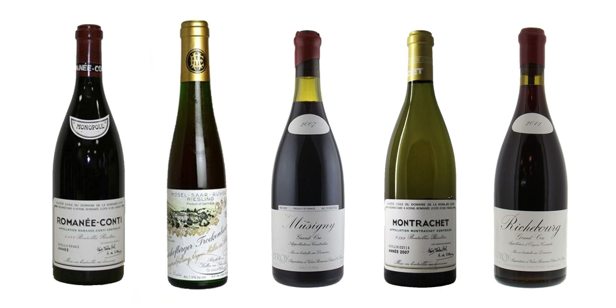 some of the most expensive wines ever