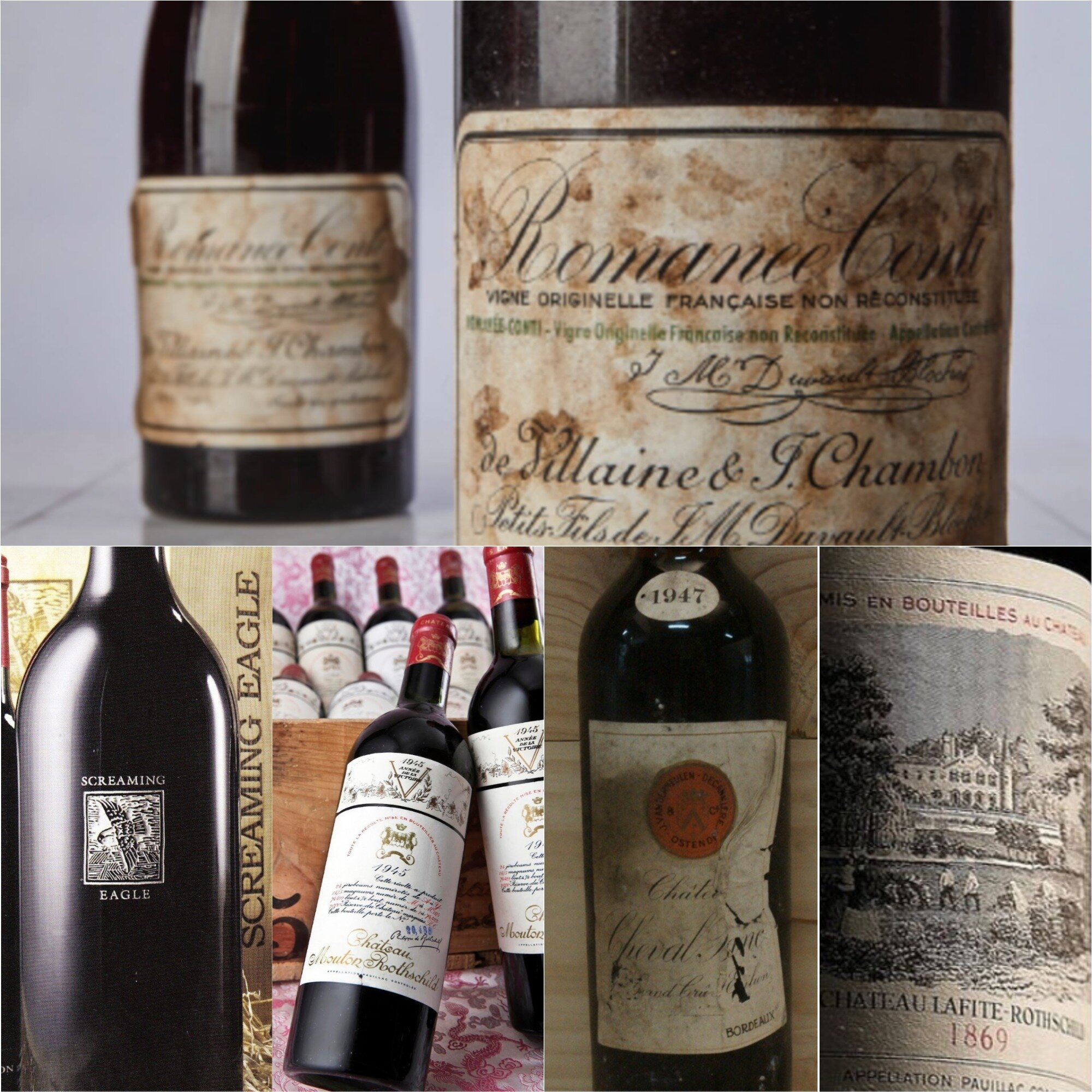 Some of the most expensive wines ever, mostly from France. Which will come next?