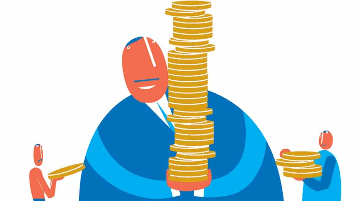 disparities and inequality in payment - CR Sasikumar