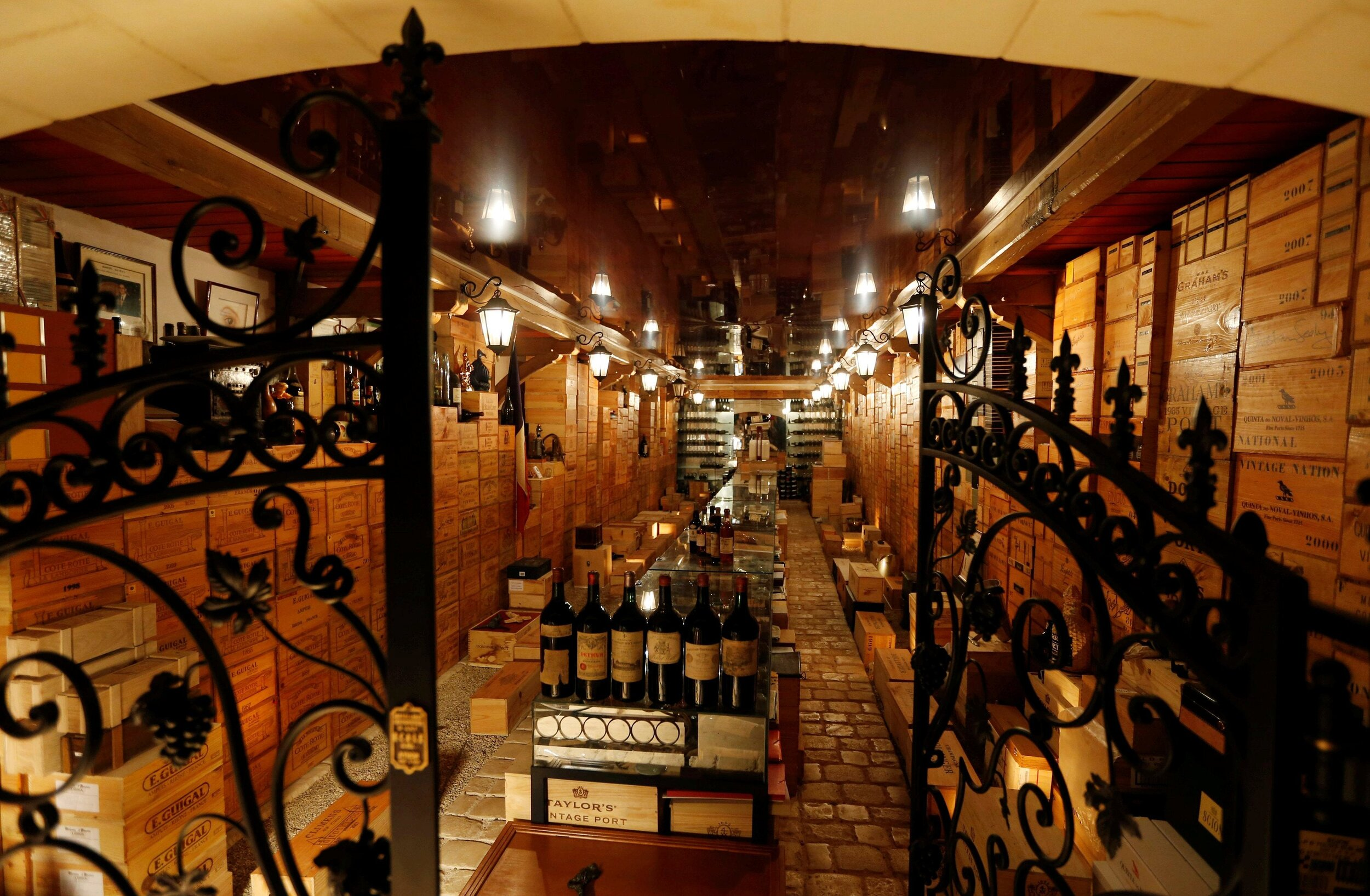 """""""The Louvre of wine"""" – a.k.a. the marvelous cellar that holds the collection of Michel-Jack Chasseuil"""