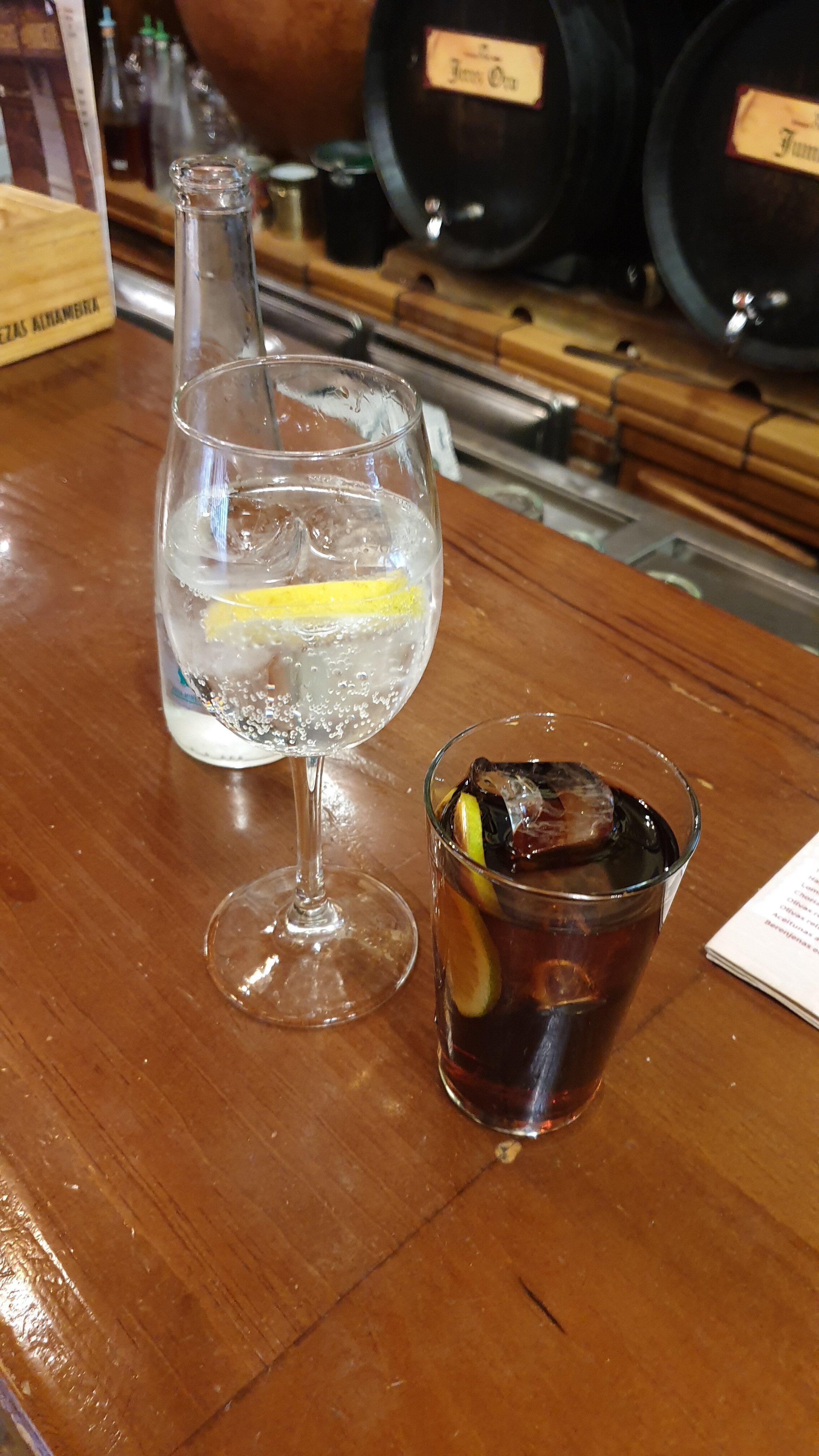 Vermouth aperitif in Granada, Spain. Delicious as always  (photo: Breno Salvador)