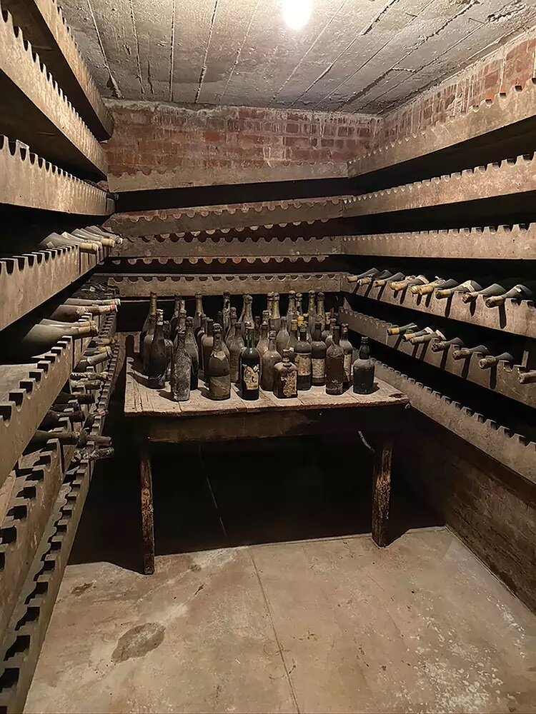 Woodrow Wilson's bottles survived Prohibition