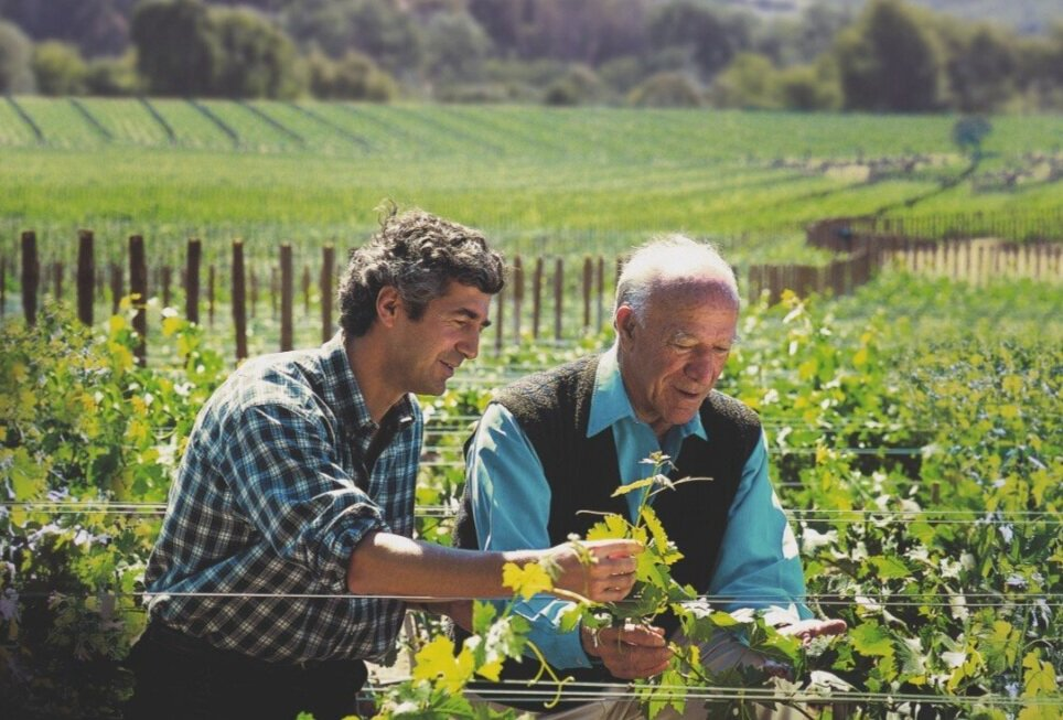Eduardo Chadwick and Robert Mondavi: when passion for wine and two geniuses go together…