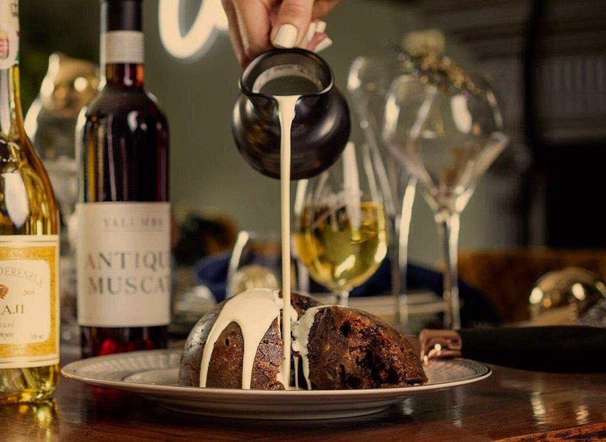 dessert wine christmas