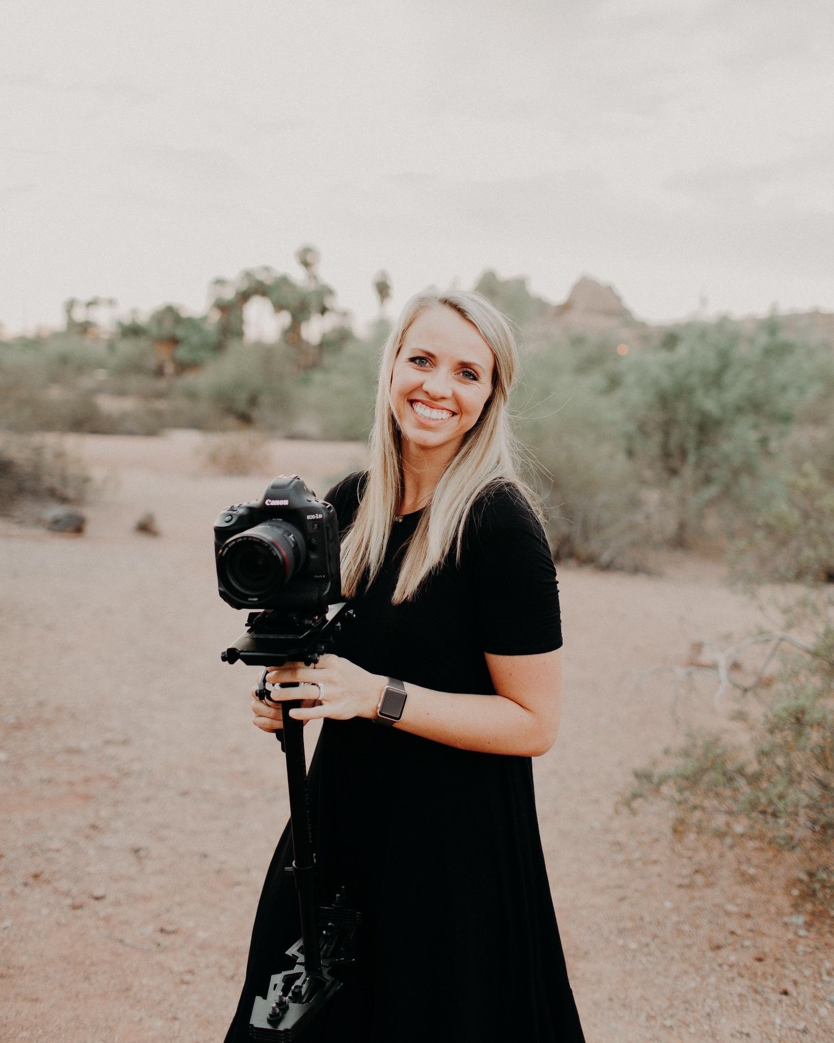Behind the Camera - Trellany Bodine