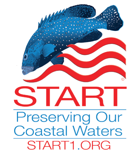 Solutions To Avoid Red Tide (START logo) seeks to preserve coastal waters.