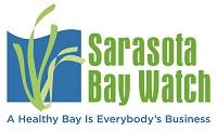Sarasita Bay Watch's logo.  They believe a healthy bay is everybody's business (tagline)