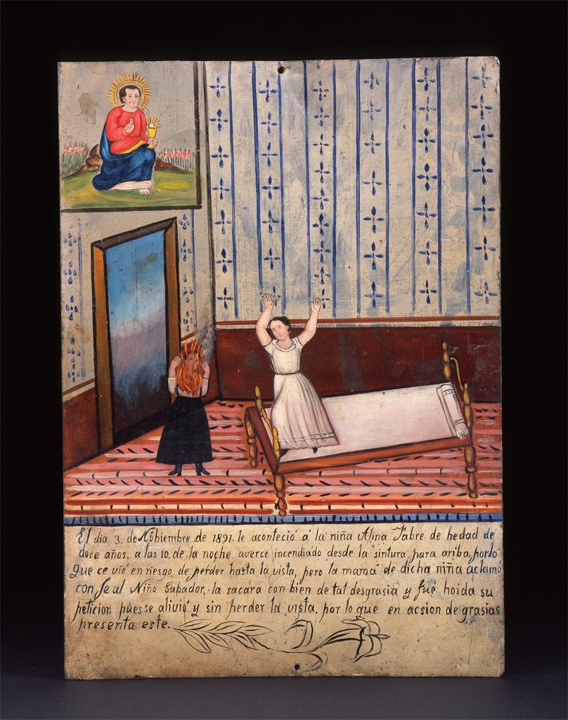 Late 19th Century Mexican Ex-Voto. ARTSTOR Collection: Fowler Museum (University of California, Los Angeles)