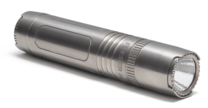 Flieger Titanium - Bring light to the darkest skies with Muyshondt's most powerful Electric Torch.