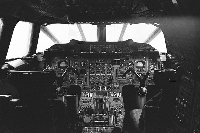 Gotta go fast. Where are you off to this weekend? 📷 Concorde Cockpit, Leica M4, Kodak Tri-X 400.