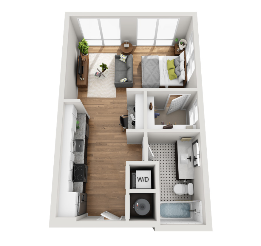Featured Floor Plan —  Tom Collins