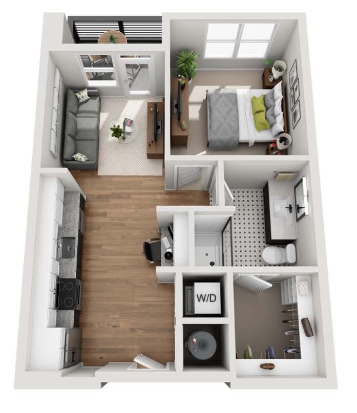 Featured Floor Plan —  The Highball