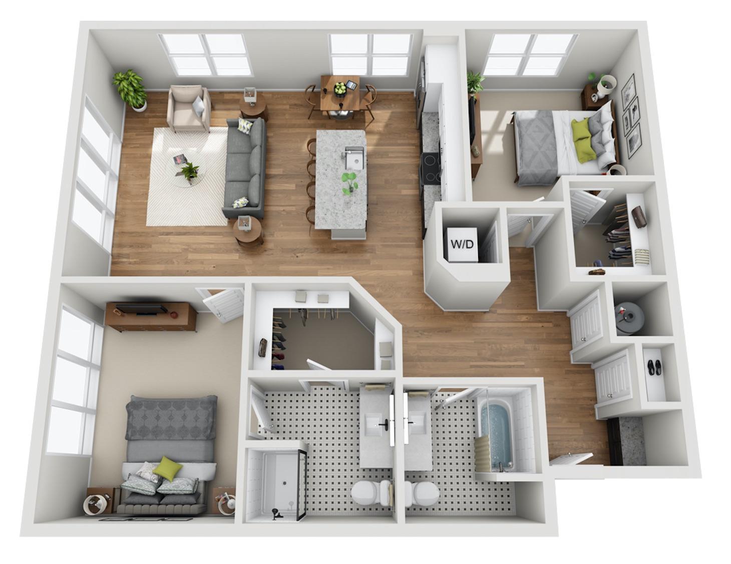 Featured Floor Plan —  The Last Word