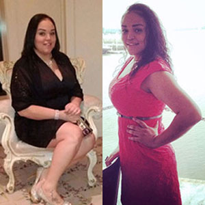 AUMie Michelle Reached her Weight Loss Goal