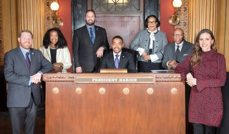 Columbus City Council - City Council is the legislative branch of the City with the responsibility of adopting annual operating and capital budgets, city contracts and enacting the Columbus City Codes. Council also establishes land use policy through its zoning powers.