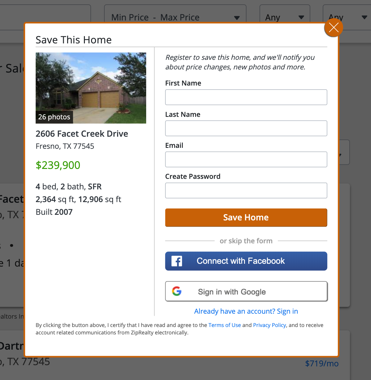 Tour Home module prior to DLUX - Not mobile friendly,