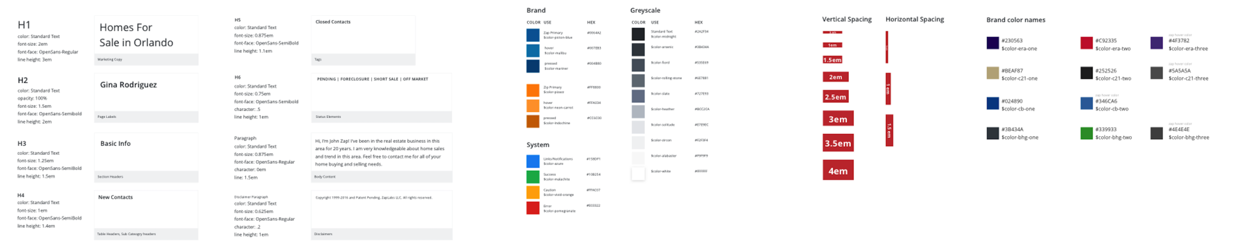 DLUX v1 Type & Color System - Corralling the legacy system.