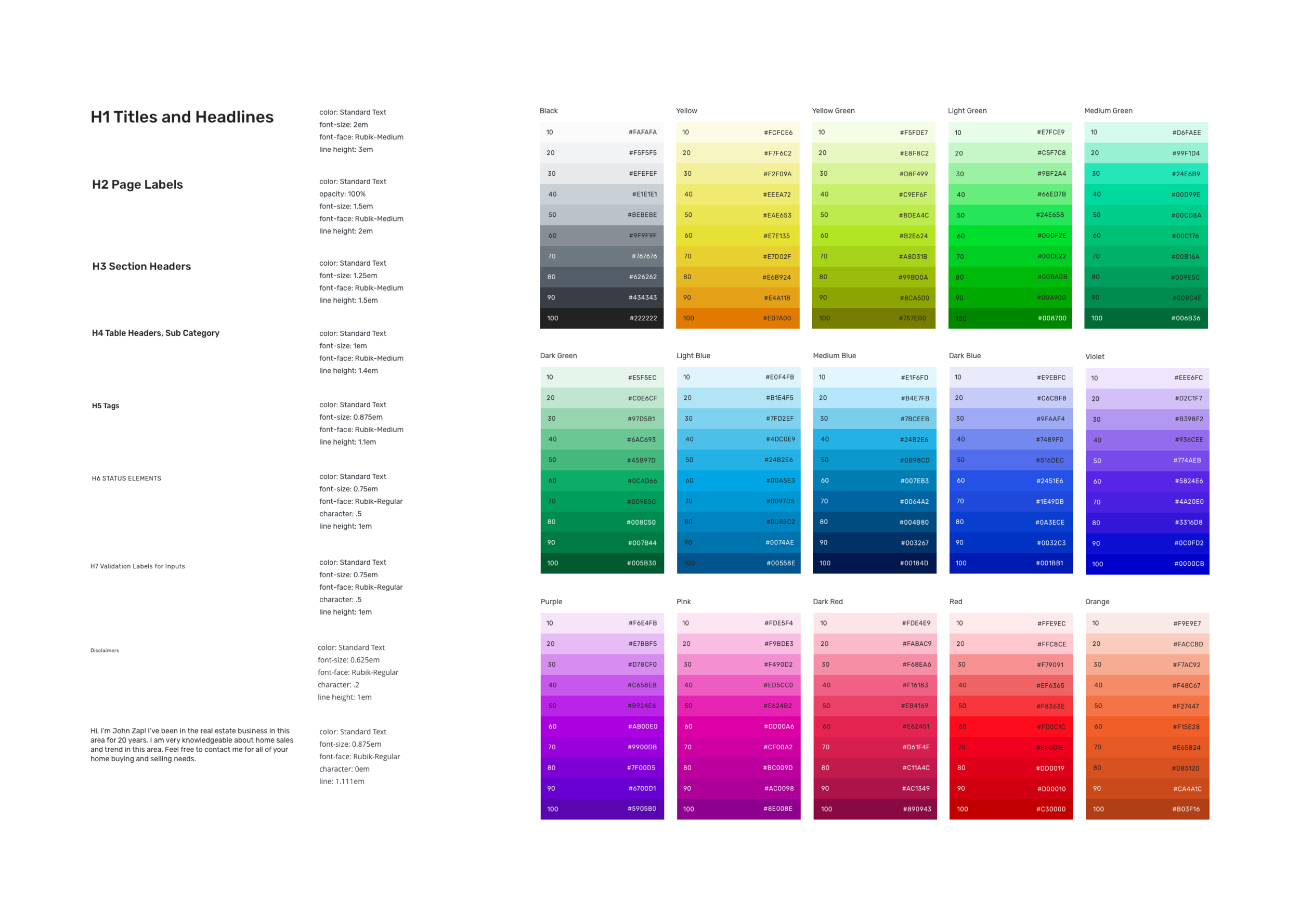 Type & Color v2 — Moving beyond the boundaries of the legacy platform, and improving readability & ADA compliance.