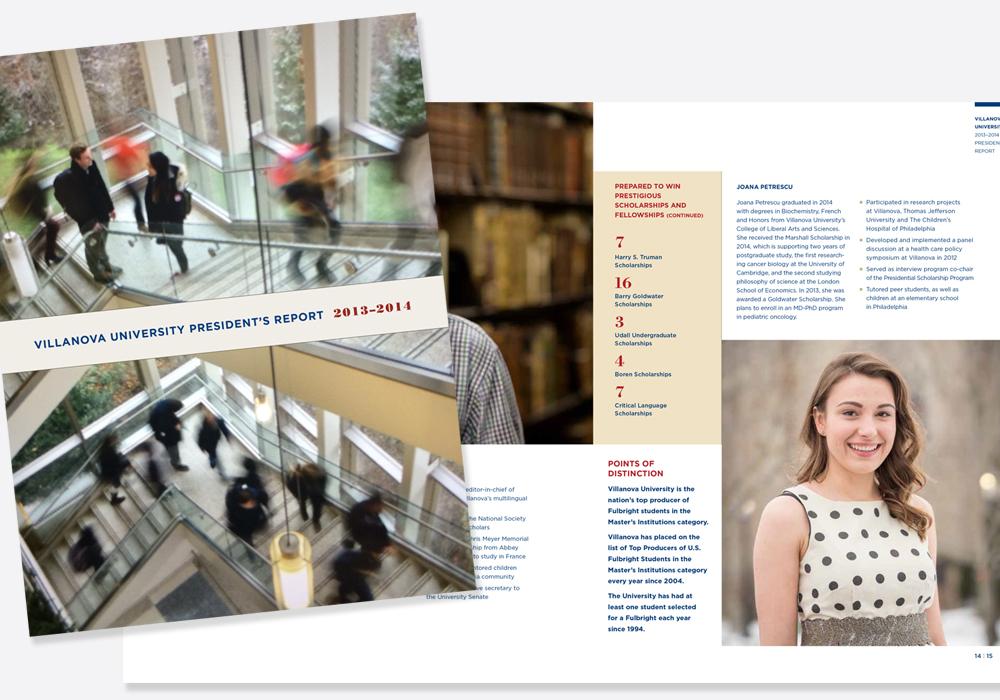 Villanova University President's Report 2013–14