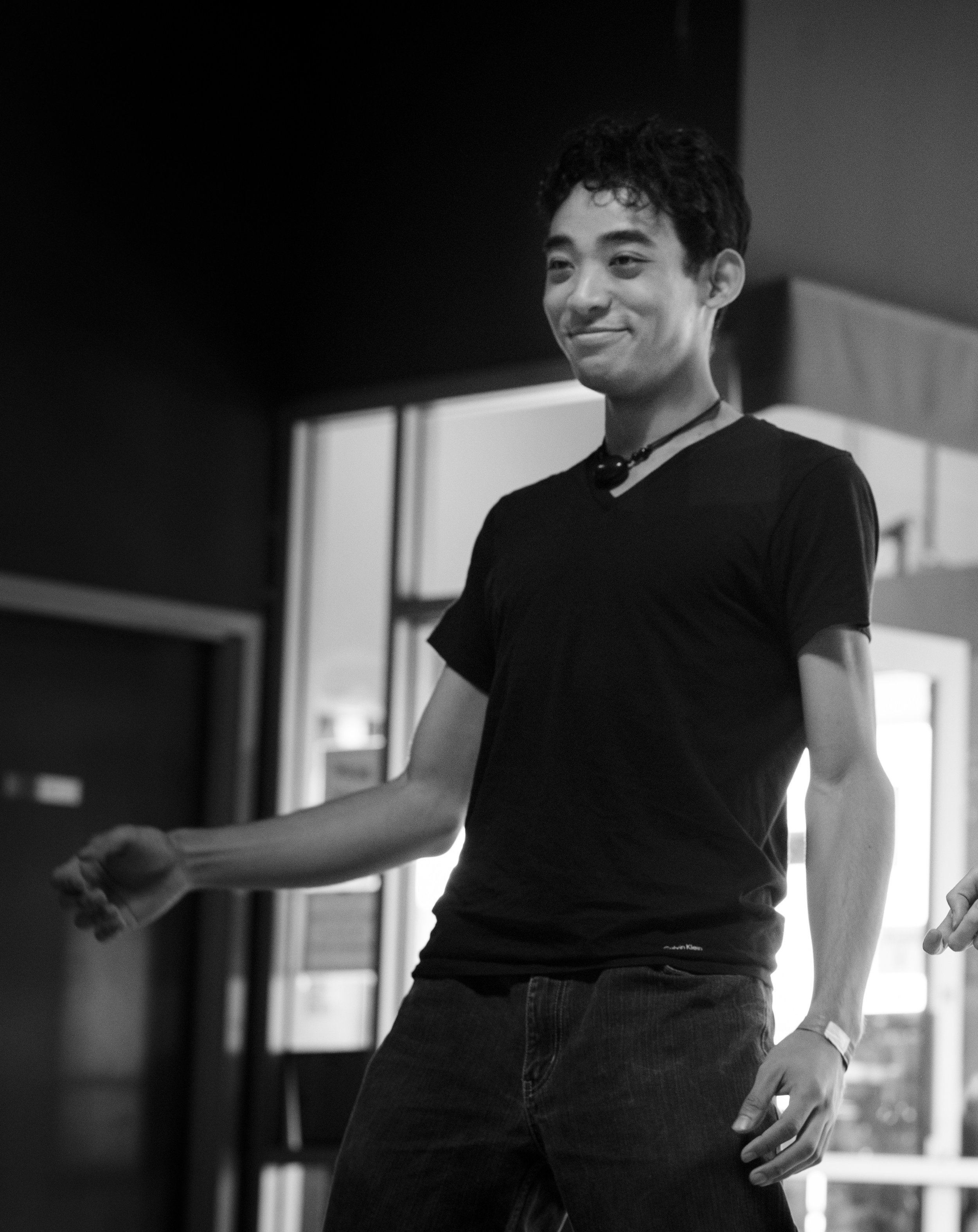 Upon stumbling upon fusion dance, Matthew immediately fell in love with the improvisational freedom available within it. His goal as a DJ is to bring emotionally evocative music to dancers and empower them to have whimsical, funky, and awe-inspiring dance conversations.