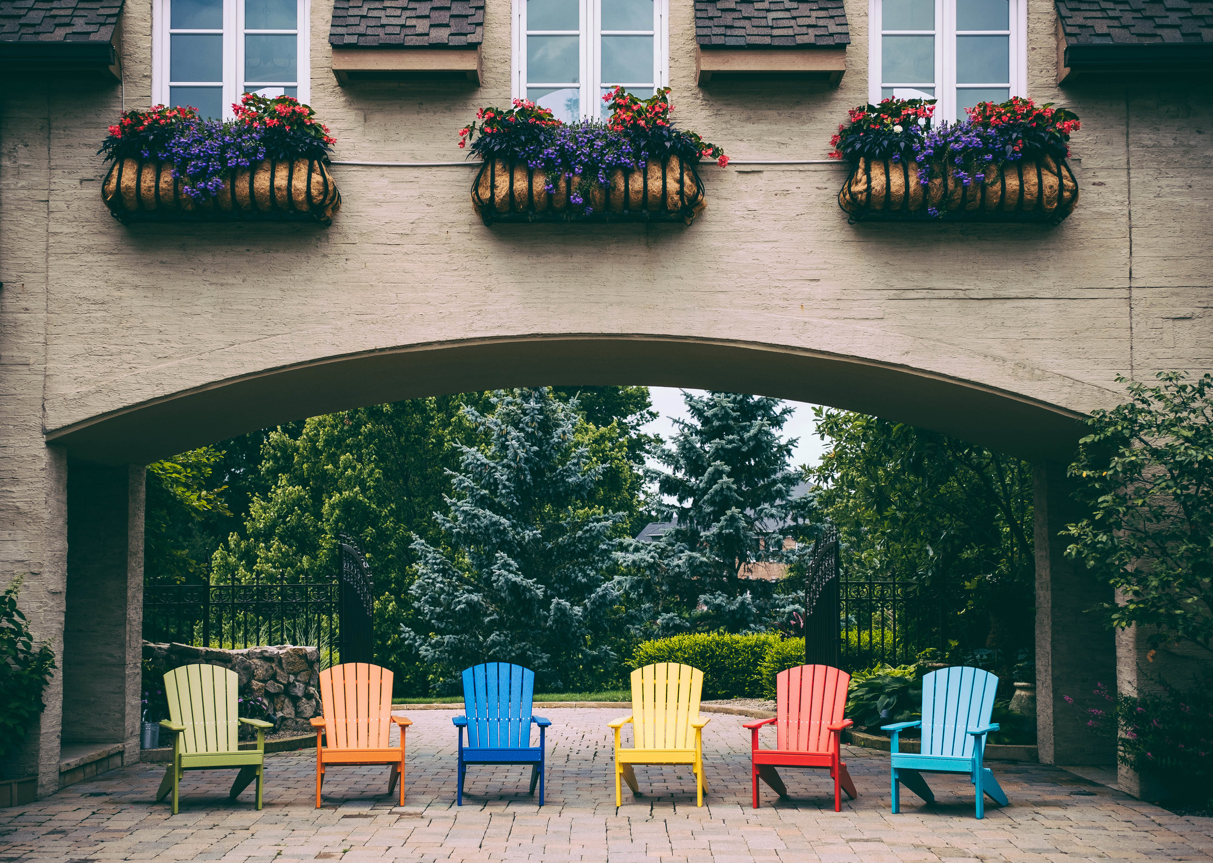 Lakeside Adirondack Chairs (Lime Green, Tangerine, Blue, Yellow, Red, Aruba Blue).jpg