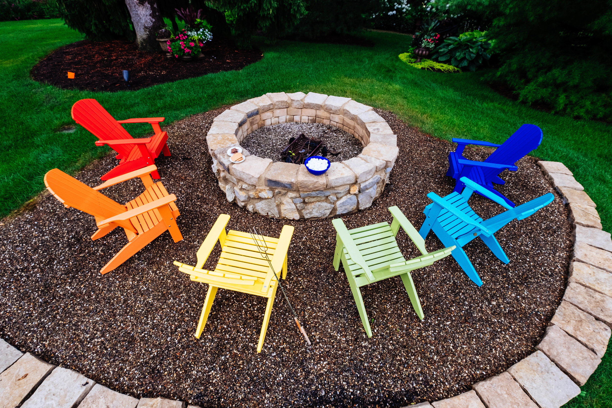 Lakeside Adirondack Chairs (Red, Tangerine, Yellow, Lime Green, Aruba Blue, Blue).jpg