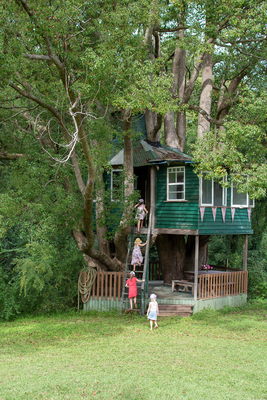 Garden of Light Tour, Tyalgum, Treehouse