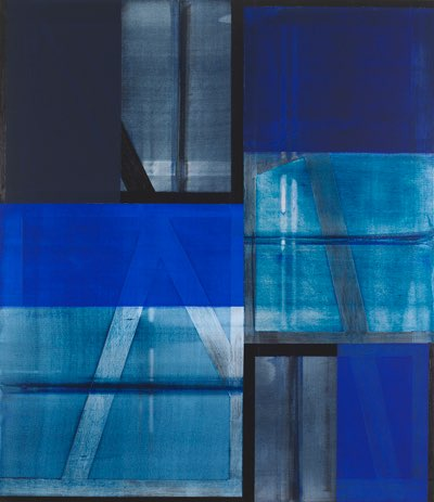 "Charles Arnoldi, Smith, 2012, acrylic on canvas, 82"" x 71"""