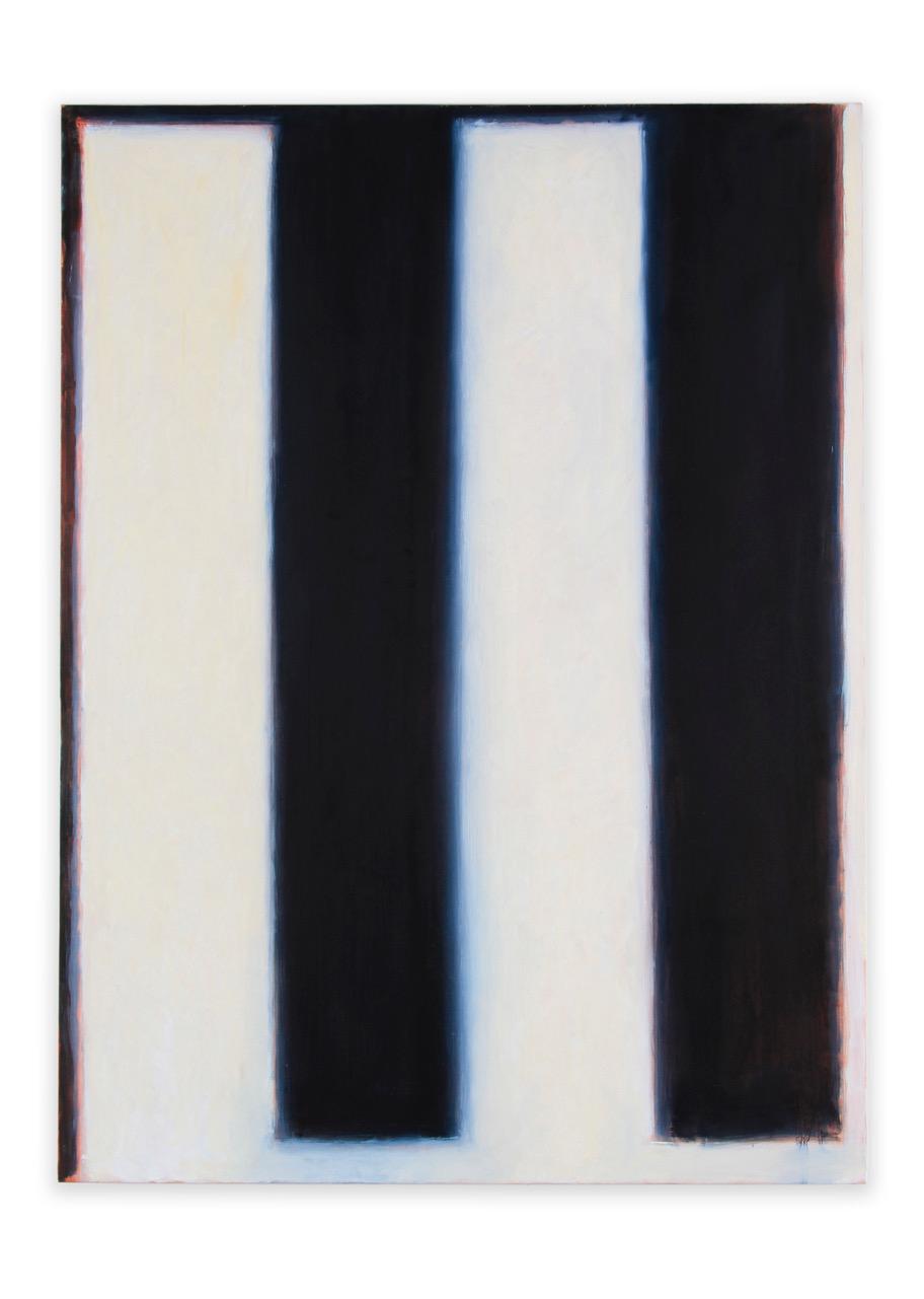 "Peter Lodato, Piano #2, 2017, oil on canvas, 48"" x 36"""